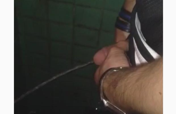 Men having a piss