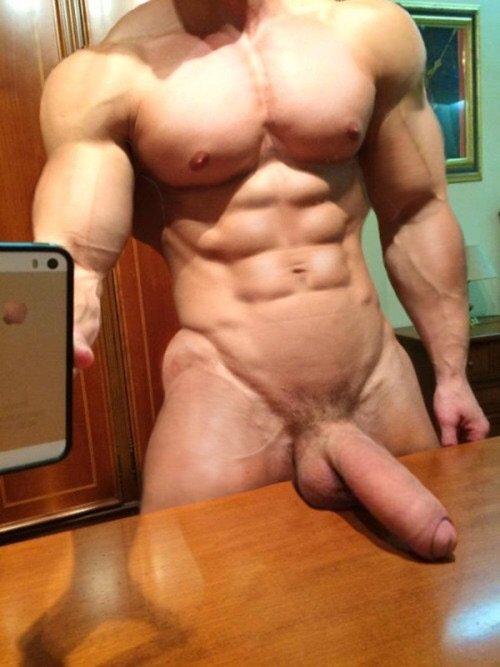 Big Circumcised Dick Selfie